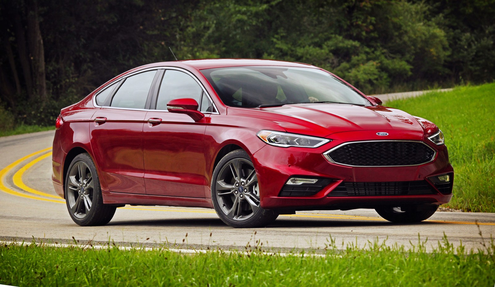 The 2017 Ford Fusion Sport Has Had Subtle But Significant Exterior And Interior Changes