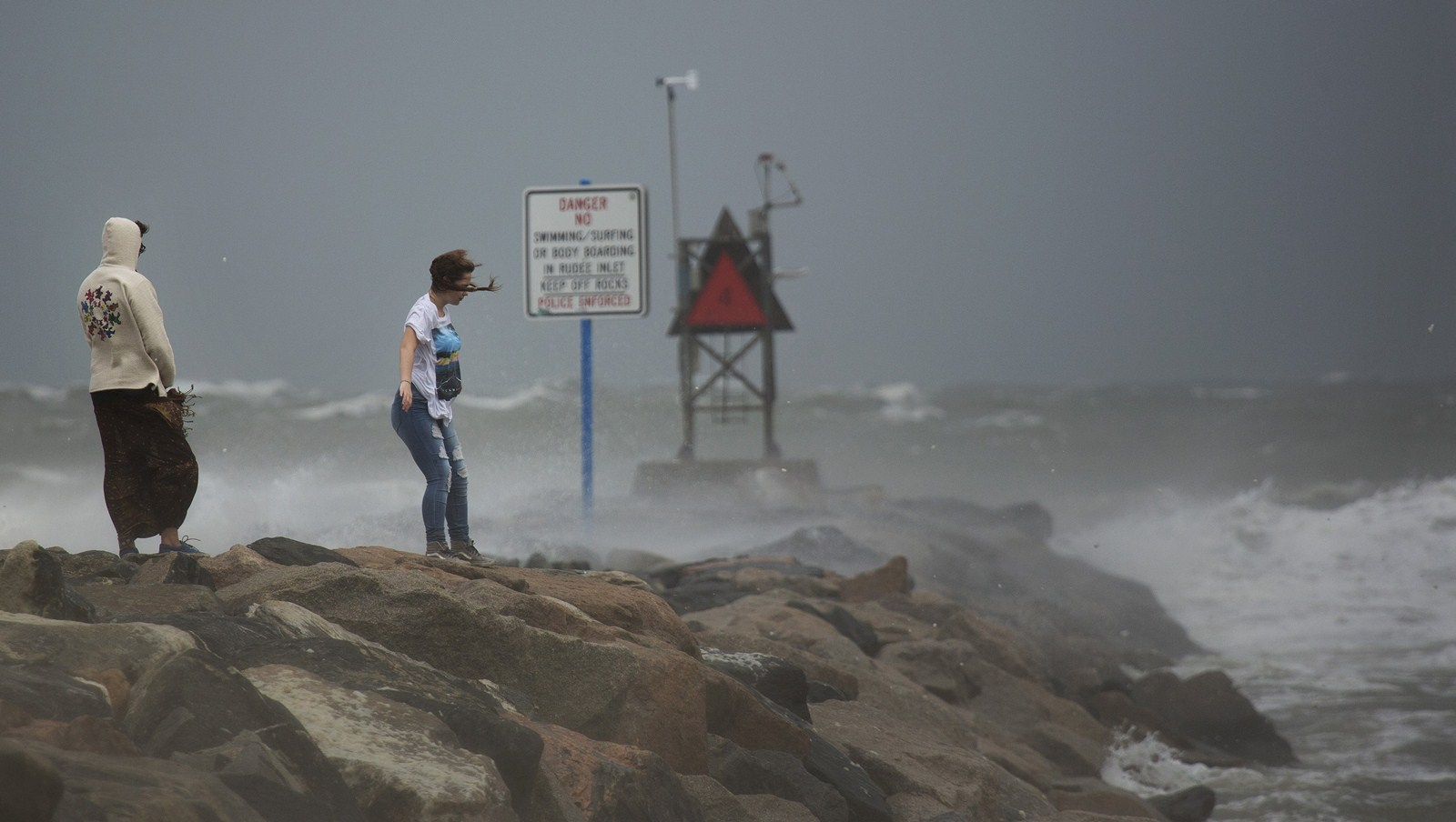 Deadly Hermine Batters East Coast In Trek North North Shore