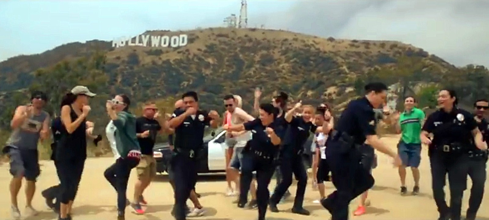 Dance challenge videos a badge of honor for police - Near
