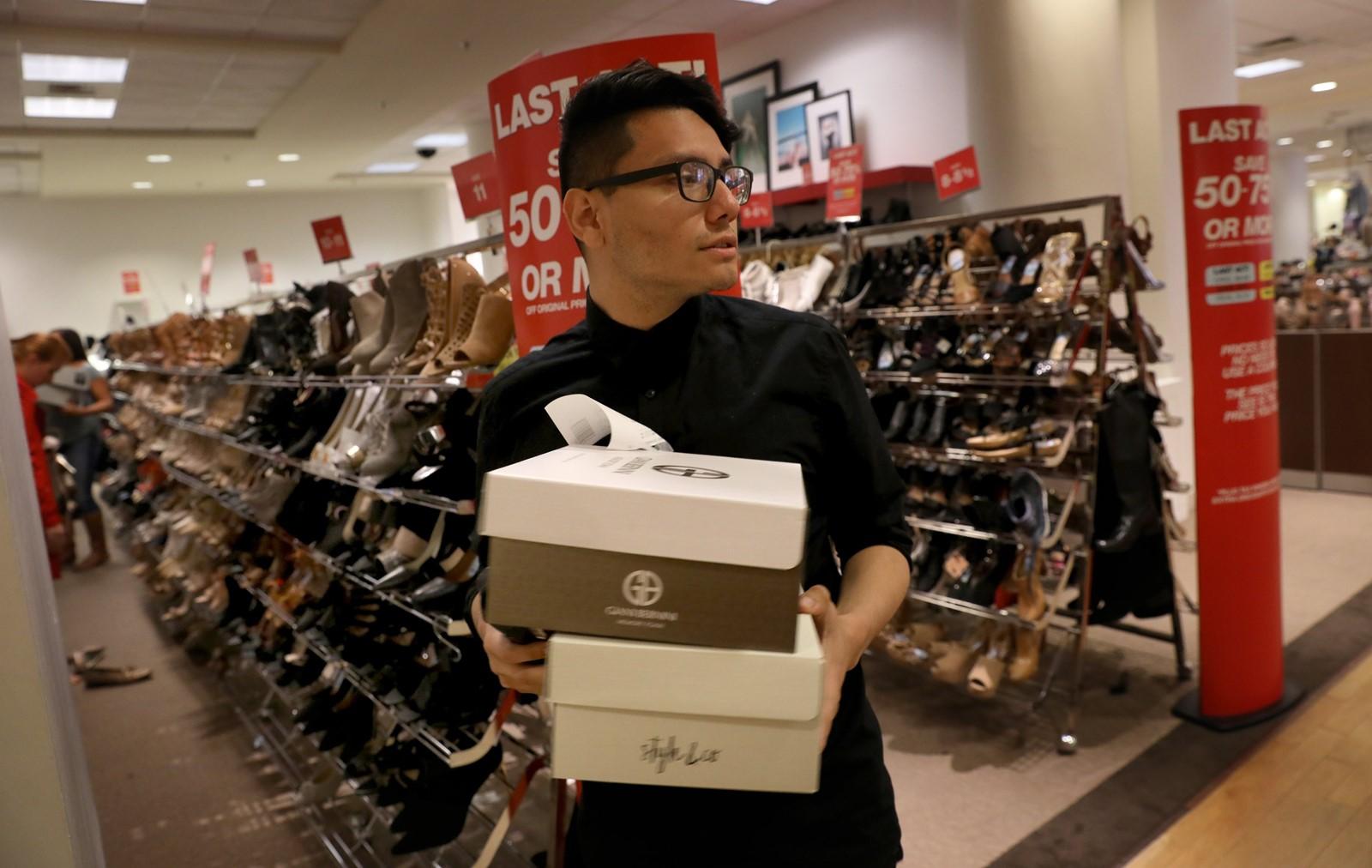 shoe departments