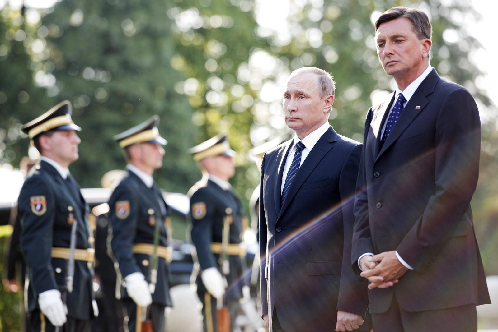 In Slovenia, Putin tests West's sanctions resolve - Northwest