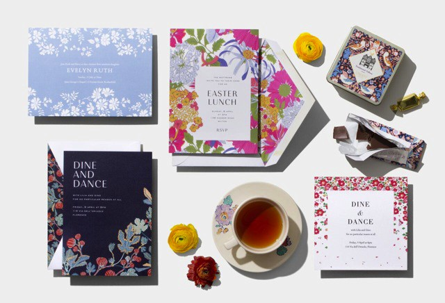 Springlike greetings from liberty of london city paperless post partnered with liberty of london to create a collection of beautiful invitations and greeting cards starring iconic floral prints from the m4hsunfo