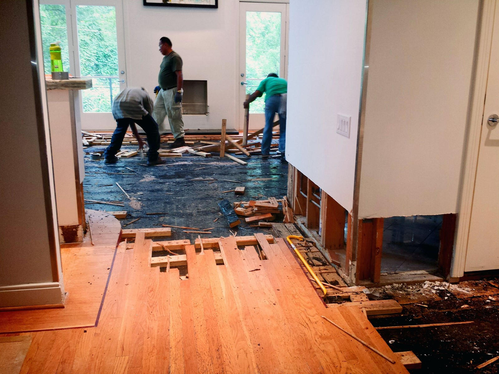 Floor Damage Leads To Sound Web Advice West