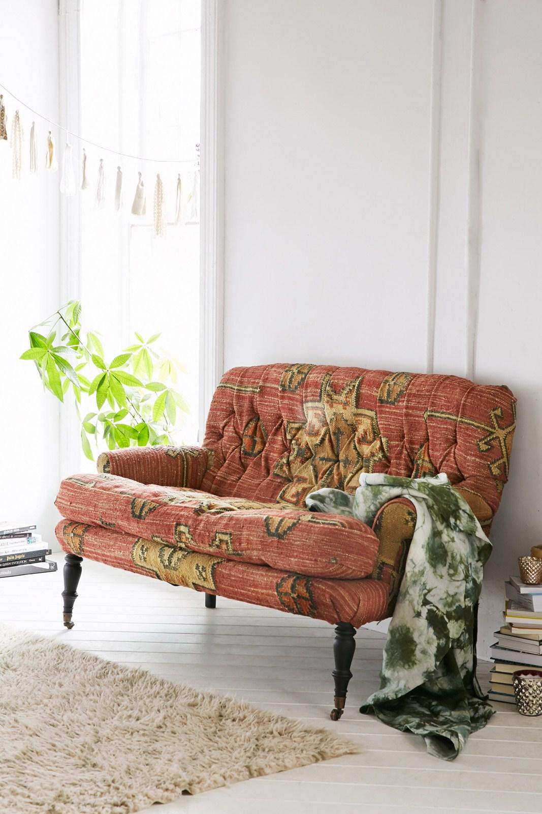 Venezuela Kilim Sofa, $1,298 At Urbanoutfitters.com. ( Urban Outfitters )