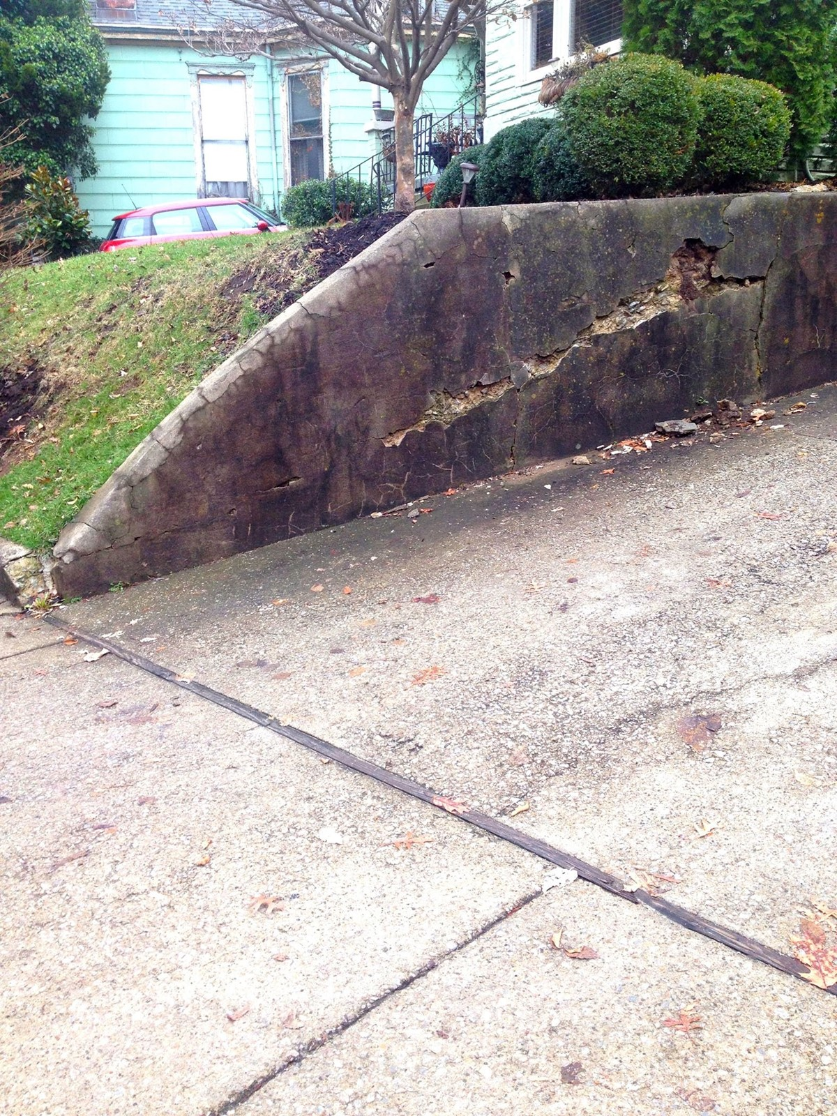 Retaining Wall Fix Need Not Cost A Fortune City