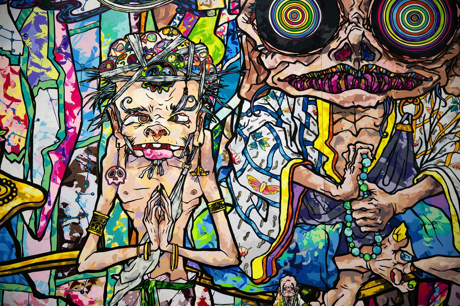 playful pop artist murakami shows deeper side at mca northwest