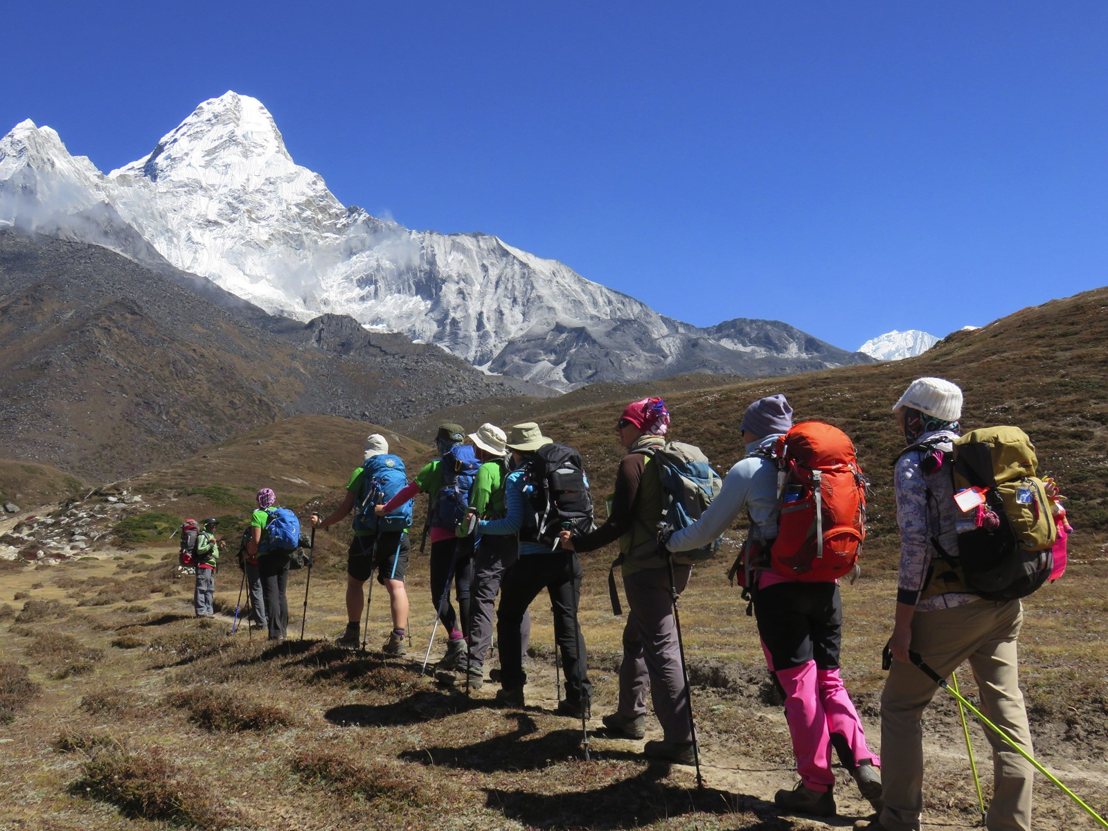 Women-only trekking trip - North