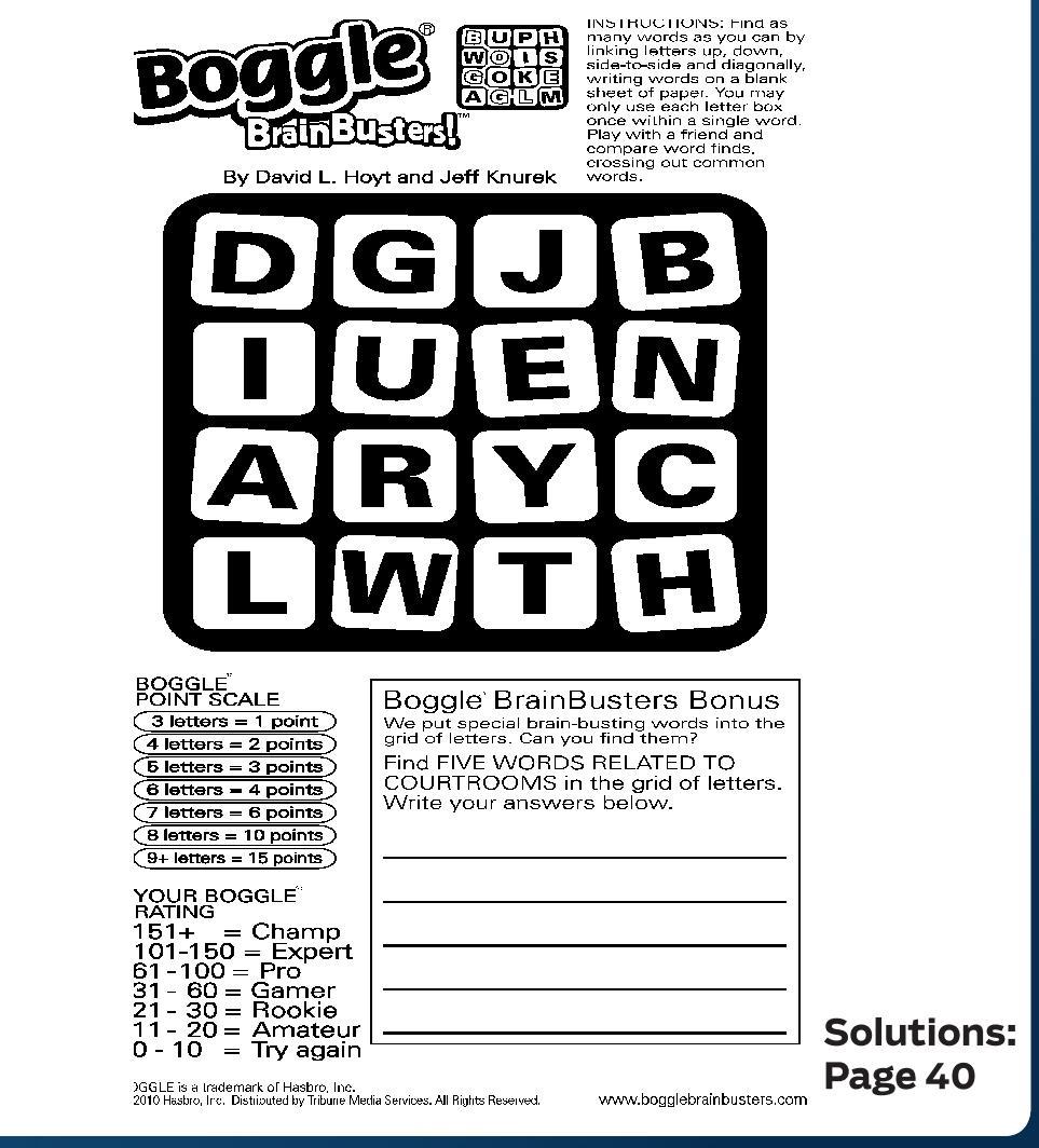 Puzzles maryland gazette aljukfo Choice Image