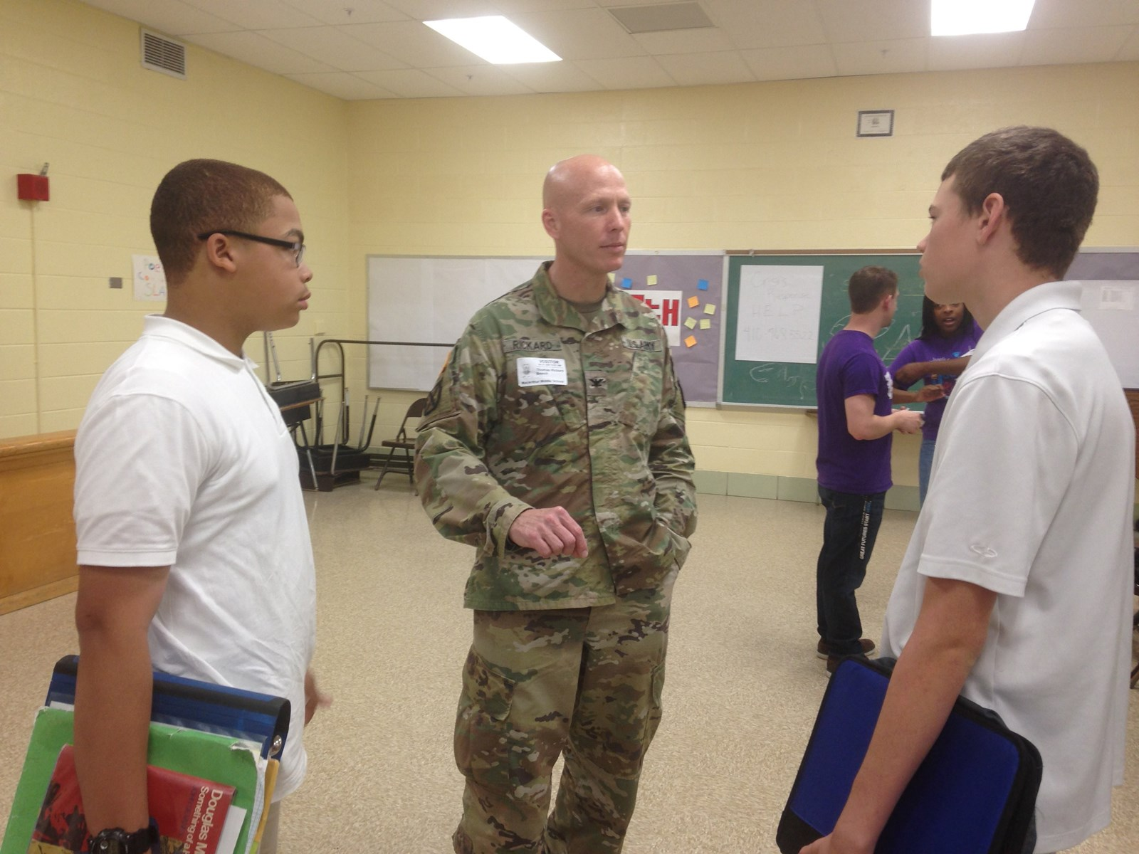 Military Children Honored At Macarthur Middle Maryland Gazette