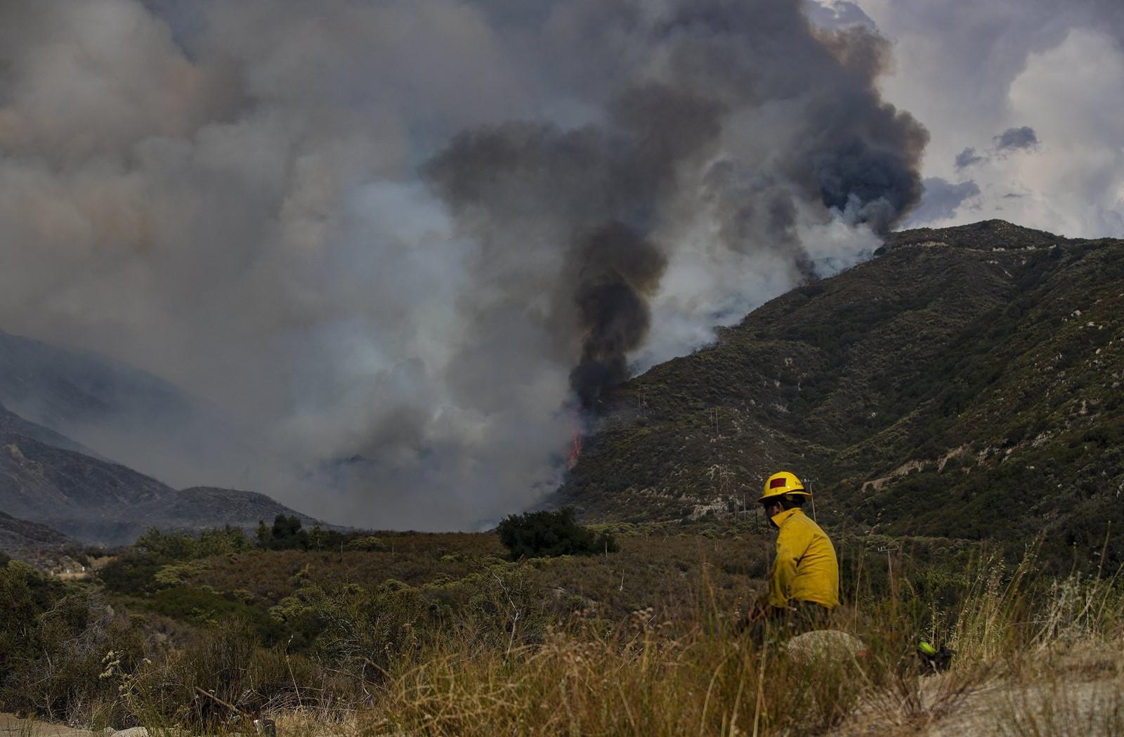 California is burning…