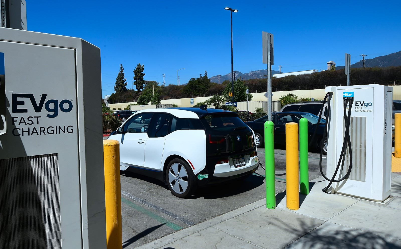 The low-carbon fuel standard is expected to cut the cost of a new electric vehicle by up to $2,000 over the next 12 years. — Photograph: Frederic J. Brown/Agence France-Presse/Getty Images.