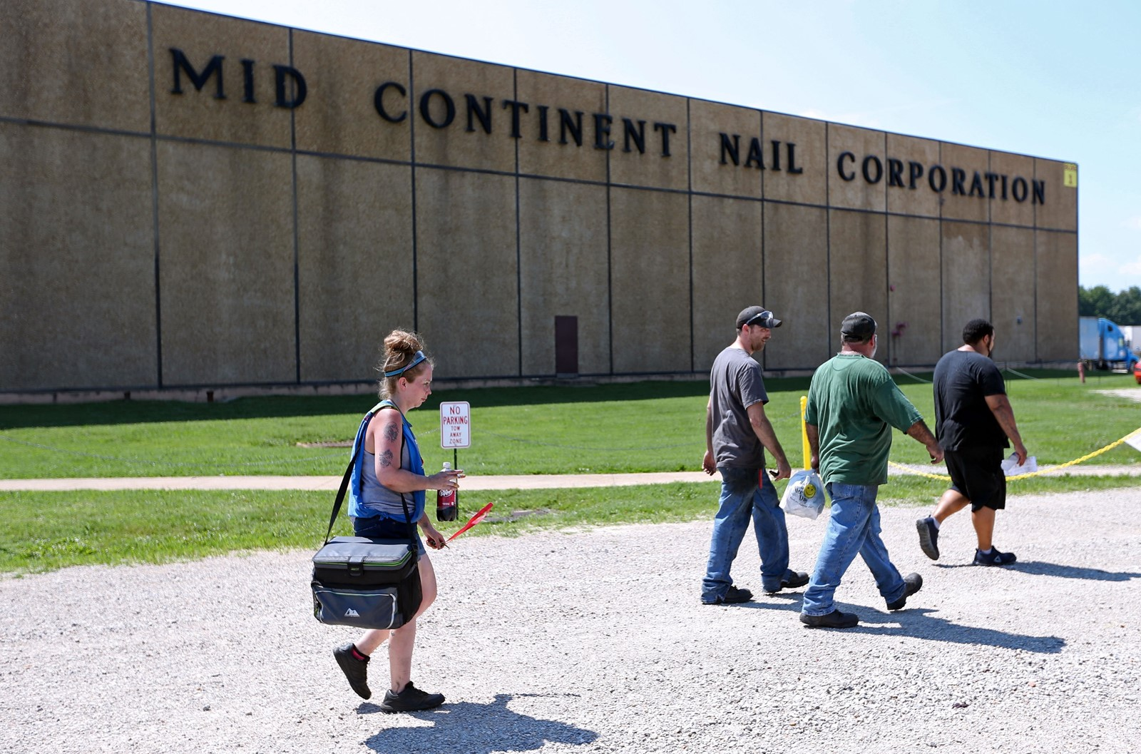 Mid Continent Nail Corporation, now Mexican-owned, is the second-largest employer in Poplar Bluff, Missouri. — Photograph: Bill Greenblatt/Agence France-Presse/Getty Images.