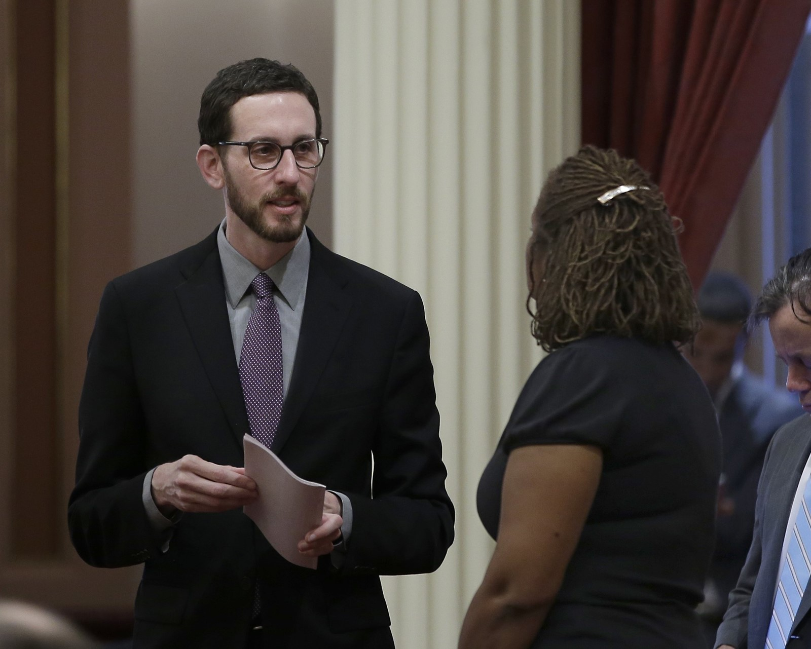 State Sen. Scott Wiener (D-San Francisco) (Rich Pedroncelli / Associated Press)