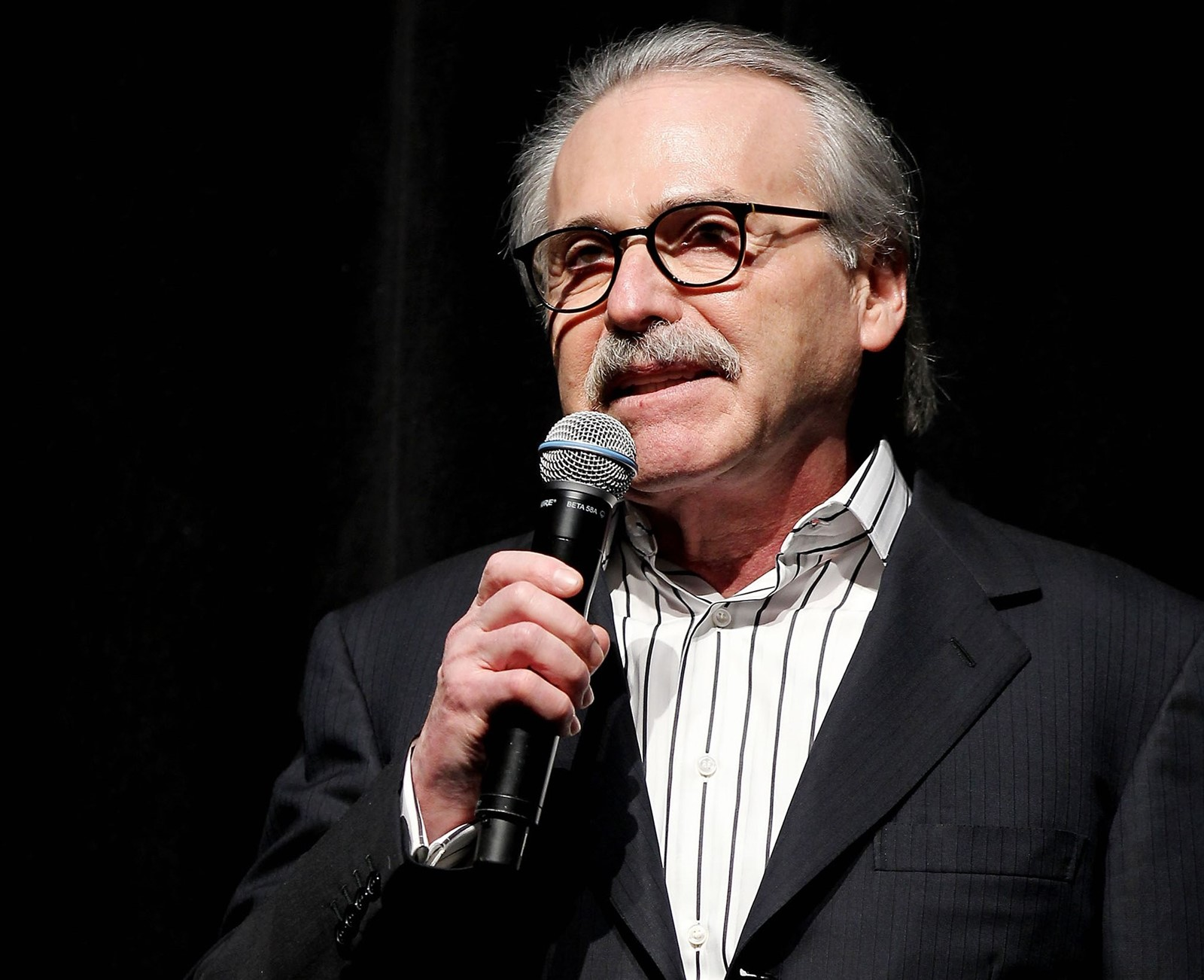 Media mogul David Pecker, who helped kill a harmful Trump story, is now aiding investigators. — Photograph: Marion Curtis.
