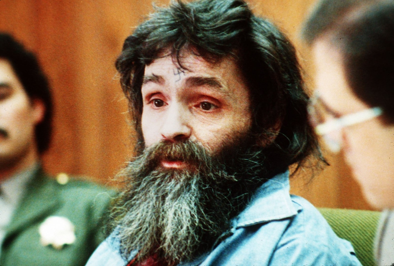 Charles Manson was denied parole on May 23, 2007, his 11th rejection since 1978. — Photograph: Associated Press.