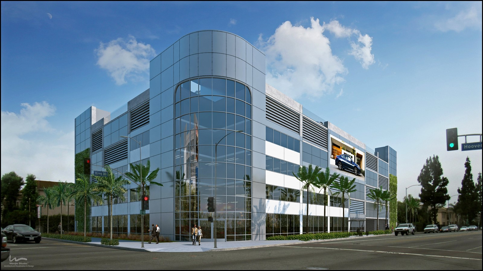 Elegant HONDA OF DOWNTOWN L.A. Is Set To Break Ground Thursday On A Dealership At A  Once Blighted Corner Of Martin Luther King Jr. Boulevard In South L.A., ...