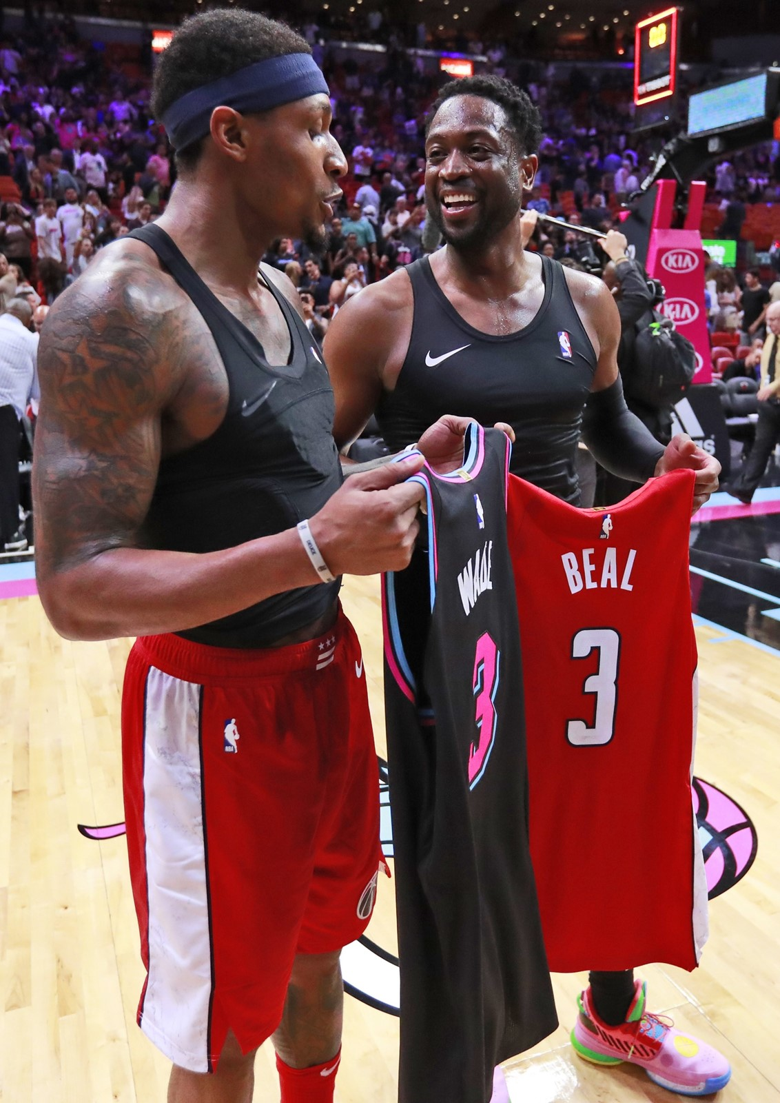 reputable site 9d8ac ac152 Beal settles for jersey after loss - Baltimore Sun