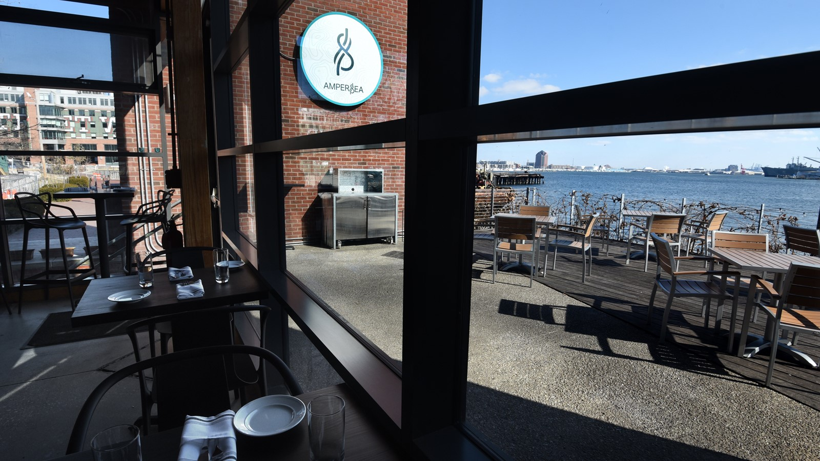 ampersea opens replacing waterfront kitchen baltimore sun - Waterfront Kitchen
