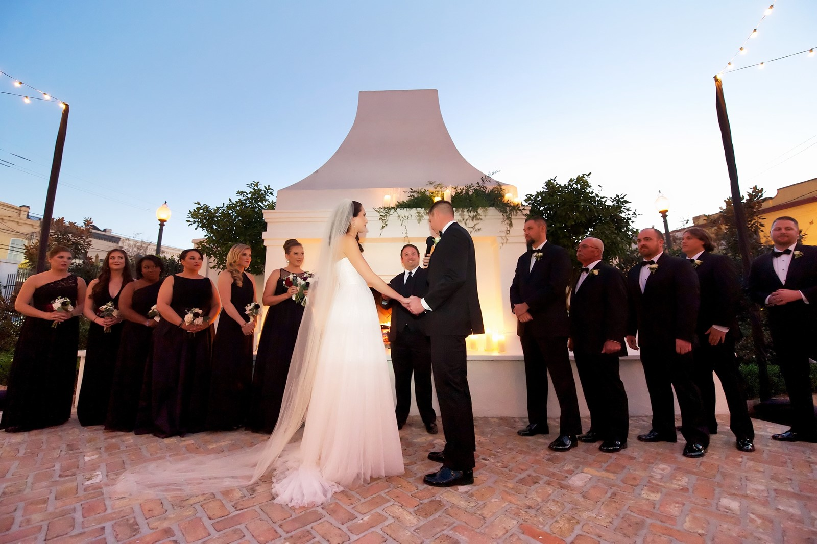 Rocco Loverro Presided Over His Friends Karrie Riordan And Adam Johnson S Wedding Ceremony In New Orleans November Has Been Ordained By The