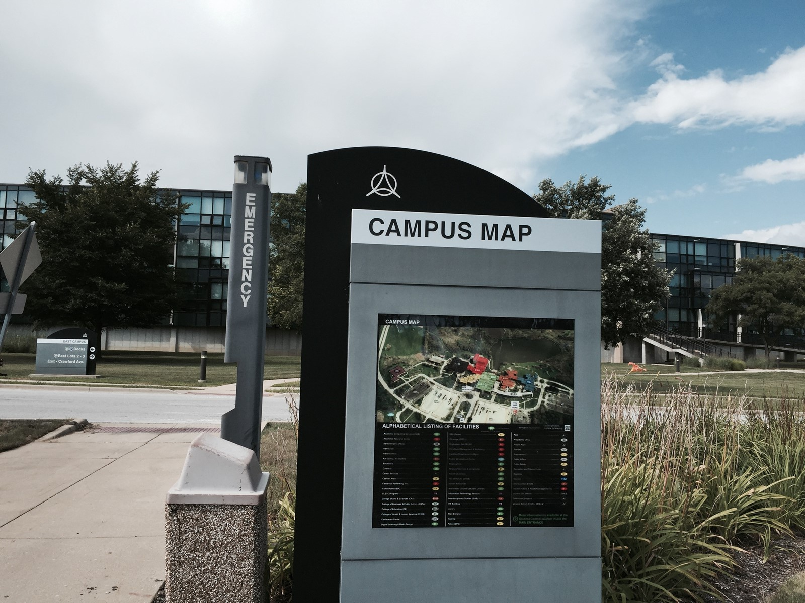 Governors State University Campus Map.Safety Is About Being Alert Daily Southtown
