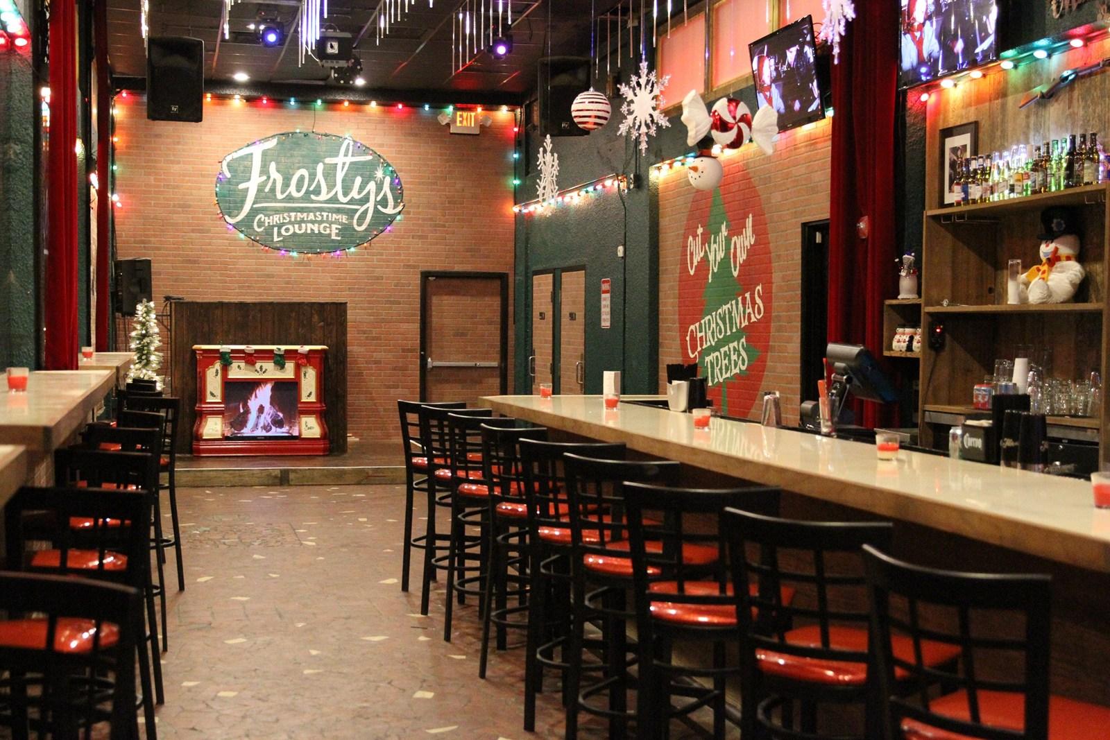 Frostys Christmas Bar.Ho Ho Ho Christmas All Year At Orlando Bar Orlando Sentinel